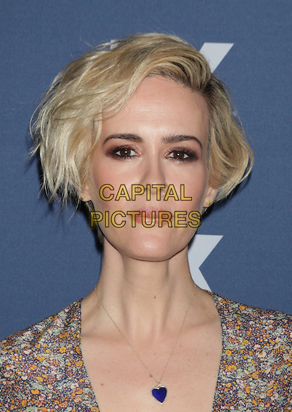 NEW YORK, NY - MARCH 30: Sarah Paulson at FX Networks Upfront Premiere Screening of &ldquo;The People v. O.J. Simpson: American Crime Story&rdquo; at AMC Empire 25 on March 30, 2016. <br /> CAP/MPI99<br /> &copy;MPI99/Capital Pictures