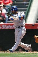 05/06/12 Anaheim, CA: Toronto Blue Jays right fielder Jose Bautista #19 during an MLB game against the Toronto Blue Jays played at Angel stadium. The Angels defeated the Blue Jays 4-3