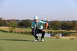 DENTON, TX - SEPTEMBER 6: Mean Green men's golf team action photos at Maridoe Country Club  on September 6, 2019 in Carrollton, Texas.