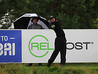 Callum Shinkwin (ENG) on the 10th tee during Round 2 of the D+D Real Czech Masters at the Albatross Golf Resort, Prague, Czech Rep. 01/09/2017<br /> Picture: Golffile | Thos Caffrey<br /> <br /> <br /> All photo usage must carry mandatory copyright credit     (&copy; Golffile | Thos Caffrey)