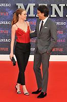 Emma Stone and Cary Fukunaga at the &quot;Maniac&quot; UK TV premiere, Southbank Centre, Belvedere Road, London, England, UK, on Thursday 13 September 2018.<br /> CAP/CAN<br /> &copy;CAN/Capital Pictures