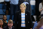 12 February 2015: UNC head coach Sylvia Hatchell. The University of North Carolina Tar Heels hosted the Florida State University Seminoles at Carmichael Arena in Chapel Hill, North Carolina in a 2014-15 NCAA Division I Women's Basketball game. UNC won the game 71-63.