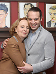 Kate Burton and Jordan Roth attends the Sardi's Caricature Unveiling for Kate Burton joining the Legendary Wall of Fame at Sardi's on June 28, 2017 in New York City.