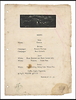 BNPS.co.uk (01202 558833)<br /> Pic: Bonhams/BNPS<br /> <br /> A  tongue-in-cheek 'Christmas' menu produced by Ernest Shackleton's British Antarctic Expedition team whilst actually enduring a freezing winter solstice in June 1908 has emerged after 108 years.<br /> <br /> The document was actually printed during the harsh southern hemisphere winter of that year, and lists dubious yet delicious-sounding fare the men were supposedly going to indulge in for their boozy 'Christmas' dinner.<br /> <br /> The team were to tuck into turtle soup, penguin patties, seal cutlets and roast reindeer.<br /> <br /> The menu is being in a rare copy of Aurora Australis by Bonhams for &pound;35,000.