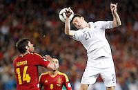 Spain's national team vs France's