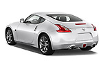 Rear three quarter view of a 2013 Nissan 370Z Coupe