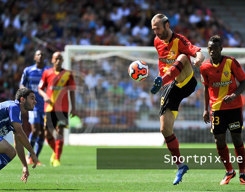 RC Lens - AJ Auxerre : Danijel Ljuboja<br /> foto David Catry / nikonpro.be