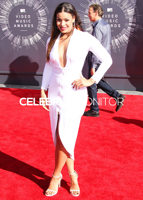 LOS ANGELES, CA, USA - AUGUST 24: Jordin Sparks at the 2014 MTV Video Music Awards held at The Forum on August 24, 2014 in the Los Angeles, California, United States. (Photo by Xavier Collin/Celebrity Monitor)