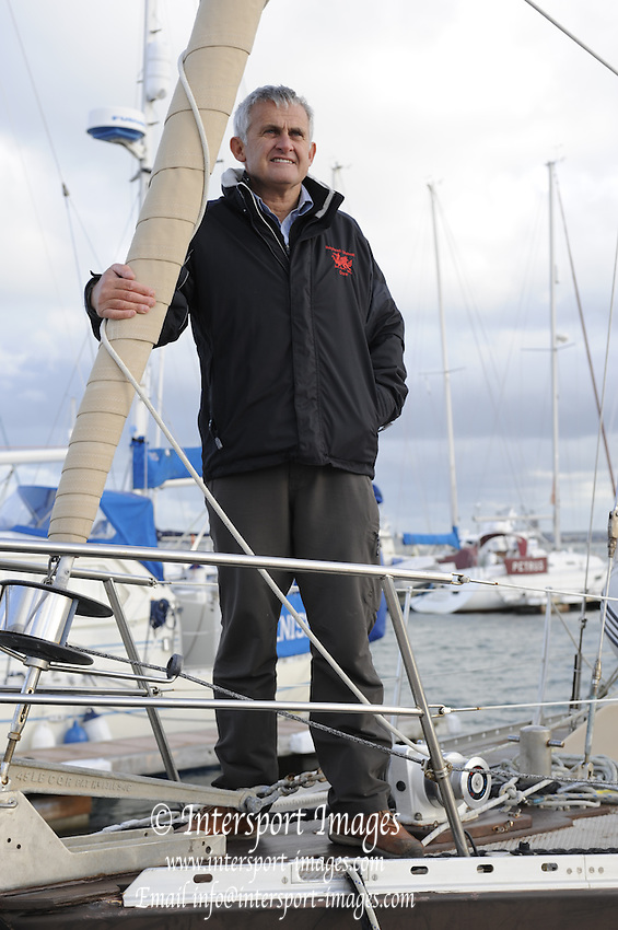 Holyhead,  Anglesey. North WALES. Nigel DENNIS, Canoeist, Adventurer and Canoe/Kayak designer manufacturer.   {DOW - {DATE}  [ Mandatory Credit, Peter Spurrier/Intersport-images]