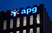 Nederland Amsterdam 2019. APG kantoor aan de Zuidas. Foto Berlinda van Dam / Hollandse Hoogte