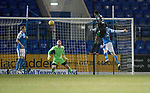 St Johnstone v Hibs&hellip;16.03.18&hellip;  McDiarmid Park    SPFL<br />Efe Ambrose scores for Hibs<br />Picture by Graeme Hart. <br />Copyright Perthshire Picture Agency<br />Tel: 01738 623350  Mobile: 07990 594431