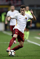 Calcio, Serie A: Milano, stadio Giuseppe Meazza (San Siro), 1 ottobre 2017.<br /> Roma's Stephan El Shaarawy in action during the Italian Serie A football match between Milan and AS Roma at Milan's Giuseppe Meazza (San Siro) stadium, October 1, 2017.<br /> UPDATE IMAGES PRESS/IsabellaBonotto