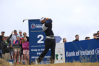 Matthieu Pavon (FRA) tees off the 2nd tee during Saturday's Round 3 of the 2018 Dubai Duty Free Irish Open, held at Ballyliffin Golf Club, Ireland. 7th July 2018.<br /> Picture: Eoin Clarke | Golffile<br /> <br /> <br /> All photos usage must carry mandatory copyright credit (&copy; Golffile | Eoin Clarke)