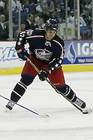 20 October 2006: Columbus Blue Jackets' Mark Hartigan plays against the Toronto Maple Leafs at Nationwide Arena in Columbus, Ohio.<br />