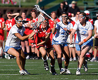 during their game at St. Stephens and St. Agnes High School in Alexandria, VA.  North Carolina defeated Cornell, 13-7.