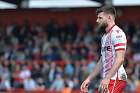 Danny Newton of Stevenage during Stevenage vs Cambridge United, Sky Bet EFL League 2 Football at the Lamex Stadium on 14th April 2018