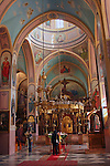 Israel, Jerusalem, The Cathedral of the Holy Trinity in the Russian Compound, interior<br />