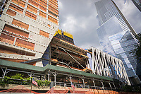 Construction of the Hudson Yards development in New York on Monday, June 26, 2017.  (© Richard B. Levine)