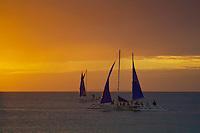 Boracay Island sunset Philippines
