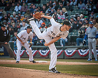 White Sox winning pitcher Chris Sale