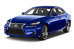 2015 Lexus IS F SPORT LINE 4 Door Sedan Angular Front stock photos of front three quarter view