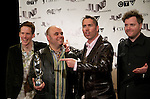 Barenaked Ladies, winners of the 2009 Juno for Children's Album of the Year, pose on the media wall, Saturday March 28th, 2009, at the Westin Bayshore Hotel in Vancouver.  (Scott Alexander/pressphotointl.com)