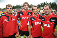 120211 Super 15 Rugby Preseason - Hurricanes v Crusaders