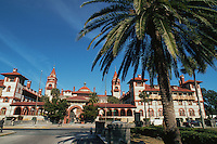 Flagler College, in historic Ponce De Leon Hotel (1885), St. Augustine. Saint Augustine, Florida.
