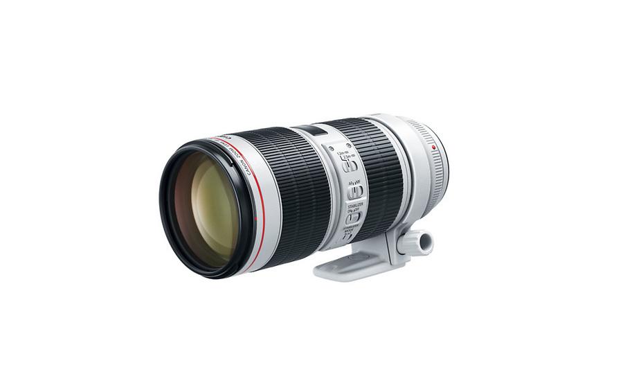 70 - 200 mm lens