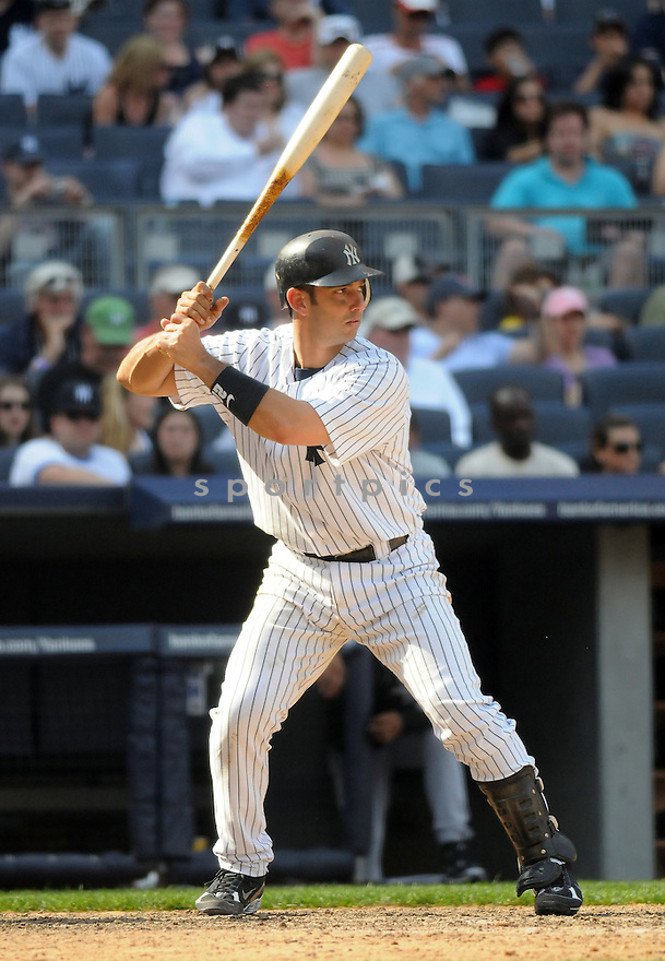 JORGE POSADA, of the New York Yankees, in action during the Yankees game against the Chicago White Sox  at  Yankee Stadium  on May 1, 2010...The White Sox win 7-6.