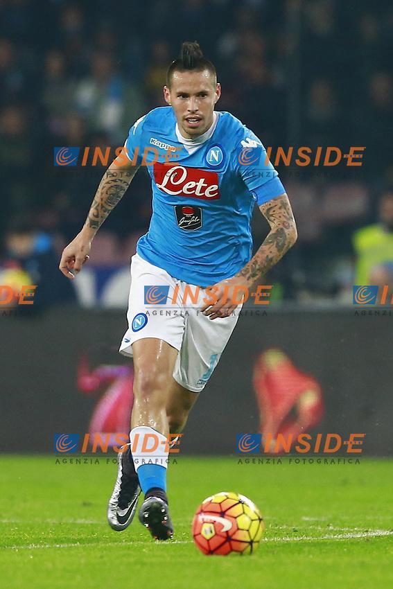 Marek Hamsik Napoli,  <br /> Napoli 30-11-2015 Stadio San Paolo <br /> Football Calcio Serie A 2015/2016 Napoli - Inter<br /> Foto Cesare Purini / Insidefoto