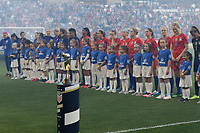 Saint Paul, MN - Tuesday September 03, 2019 : USWNT and Player Honorees prior to the USWNT 2019 Victory Tour match versus Portugal at Allianz Field, on September 03, 2019 in Saint Paul, Minnesota.