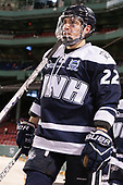 Ara Nazarian (UNH - 22) - The Northeastern University Huskies and University of New Hampshire Wildcats tied 2-2 on Saturday, January 14, 2017, at Fenway Park in Boston, Massachusetts.