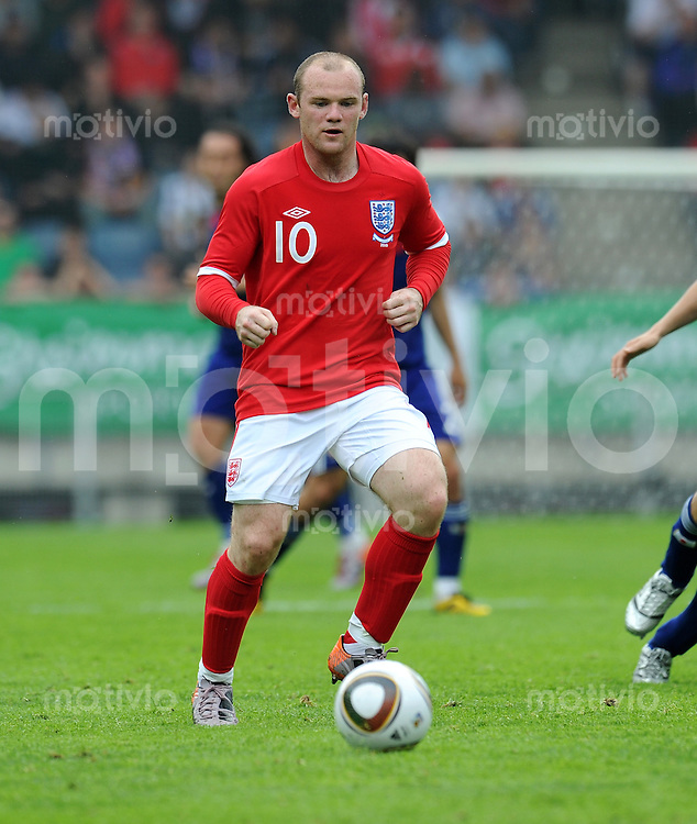 Fussball International:  Testspiel   30.05.2010 Japan - England Wayne ROONEY (England)