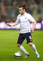 Fussball International  Freundschaftsspiel   14.11.2012 Italien - Frankreich Mathieu Valbuena (Frankreich)