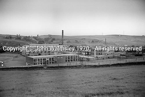 Whitworth Comprehensive School, Whitworth, Lancashire.  1970.