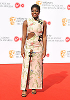 Clara Amfo at the Virgin TV British Academy (BAFTA) Television Awards 2018, Royal Festival Hall, Belvedere Road, London, England, UK, on Sunday 13 May 2018.<br /> CAP/CAN<br /> &copy;CAN/Capital Pictures