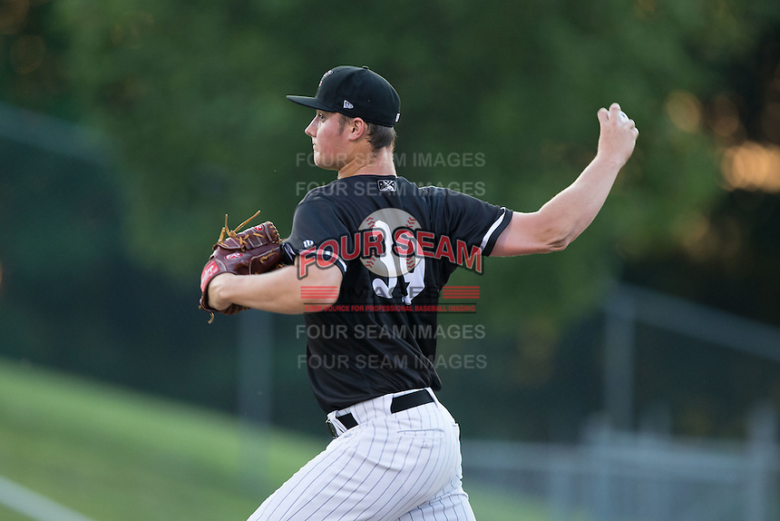 Kannapolis Intimidators starting pitcher Chris Comito (39) in action against the Lakewood BlueClaws at Kannapolis Intimidators Stadium on May 10, 2016 in Kannapolis, North Carolina.  The BlueClaws defeated the Intimidators 5-3.  (Brian Westerholt/Four Seam Images)