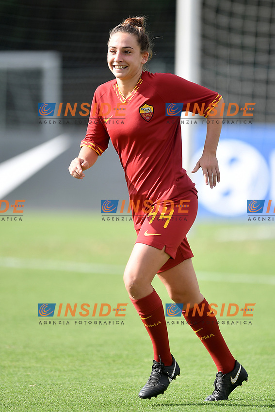 Tecla Pettenuzzo of AS Roma <br /> Roma 8/9/2019 Stadio Tre Fontane <br /> Luisa Petrucci Trophy 2019<br /> AS Roma - Paris Saint Germain<br /> Photo Andrea Staccioli / Insidefoto