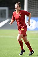 Tecla Pettenuzzo of AS Roma <br /> Roma 8/9/2019 Stadio Tre Fontane <br /> Luisa Petrucci Trophy 2019<br /> AS Roma - Paris Saint Germain<br /> Photo Andrea Staccioli / Insidefoto