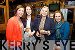 Ashleigh Sheehan celebrated her birthday at the Ring of Kerry with friends on Sunday night last pictured here l-r; Cecilia O'Sullivan, Maura O'Connell, Ashleigh Sheehan & Caroline Clifford.