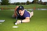 Didier Cuche at the golf course.