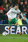 Conor McLaughlin of Northern Ireland during the international friendly match at the Cardiff City Stadium. Photo credit should read: Philip Oldham/Sportimage