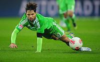 FUSSBALL   1. BUNDESLIGA    SAISON 2012/2013    13. Spieltag   VfL Wolfsburg - SV Werder Bremen                          24.11.2012 Diego (VfL Wolfsburg)  Einzelaktion am Ball