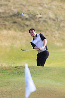 Gerard Dunne (Co. Louth) on the 14th during Round 3 of the East of Ireland Amateur Open Championship 2018 at Co. Louth Golf Club, Baltray, Co. Louth on Monday 4th June 2018.<br /> Picture:  Thos Caffrey / Golffile<br /> <br /> All photo usage must carry mandatory copyright credit (&copy; Golffile | Thos Caffrey