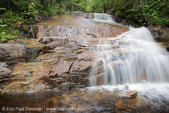 Zeacliff Pond Brook in the Pemigewasset Wilderness of Lincoln, New Hampshire USA during the spring months