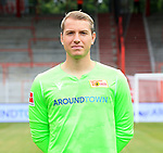 06.07.2019, Stadion an der Wuhlheide, Berlin, GER, 2.FBL, 1.FC UNION BERLIN , Mannschaftsfoto, Portraits, <br /> DFL  regulations prohibit any use of photographs as image sequences and/or quasi-video<br /> im Bild Jakob Busk (1.FC Union Berlin #12)<br /> <br /> <br />      <br /> Foto © nordphoto / Engler