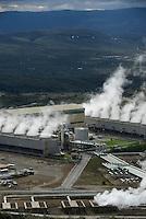 KENYA Naivasha, 140 MW geothermal power plant Olkaria IV of KenGen the kenyan power company/ KENIA Naivasha, 140 MW geothermisches Kraftwerk Olkaria IV des kenianischen Energieversorger KenGen