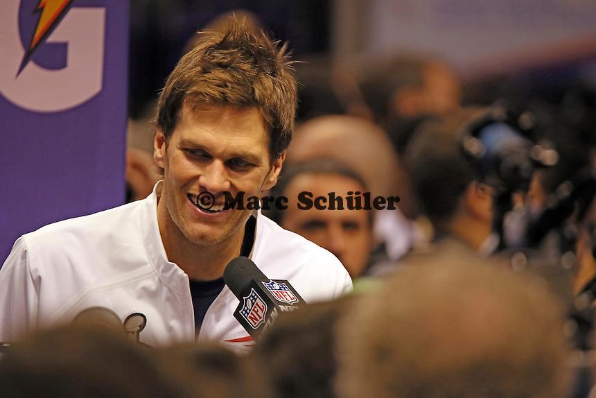 QB Tom Brady (Patriots)  - Super Bowl XLIX Media Day, US Airways Center, Phoenix