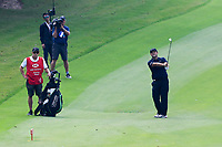 Patrick Reed (USA) on the 8th fairway during the 2nd round at the WGC HSBC Champions 2018, Sheshan Golf CLub, Shanghai, China. 26/10/2018.<br /> Picture Fran Caffrey / Golffile.ie<br /> <br /> All photo usage must carry mandatory copyright credit (&copy; Golffile | Fran Caffrey)